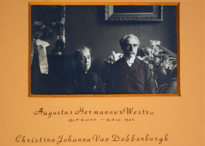 AugustusHermanusWestra_ChristinaJohannaVanDobbenburgh_1915